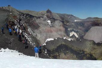 Mi meta: subir el volcán Villarrica
