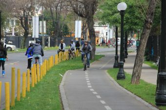 Ruta cletera: ciclovía de Pocuro