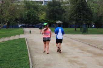 Lugares para correr: Parque Araucano