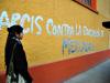 Profesores y trabajadores en paro de la Universidad Arcis realizan turnos éticos