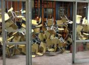 Estudiantes se tomaron nuevamente sede de la Universidad Central