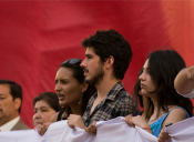 Dirigentes estudiantiles expresan su molestia por posible término de becas de mantención