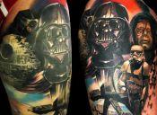 15 tatuajes ideales para fanáticos de Star Wars
