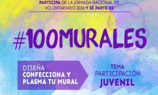 Mes de la Juventud: INJUV te invita a diseñar, confeccionar y plasmar tu mural