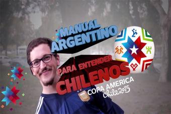 [VIDEO] Manual argentino para entender chilenos en la Copa América
