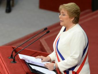 Presidenta: Para el 2018 el 92% de los estudiantes asistirá gratuitamente a colegios municipales y subvencionados