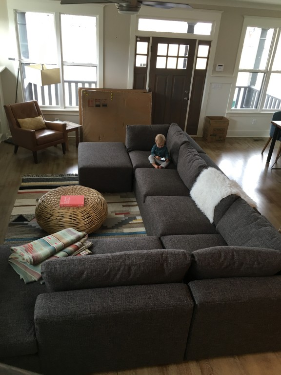 Harding Sofas with Chaise Modern Sectionals Modern Living Room