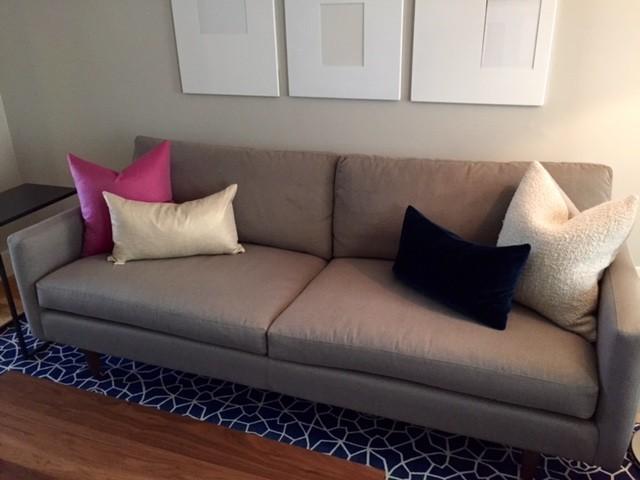 Shimmer Modern Throw Pillows Modern Solid Throw Pillows Modern