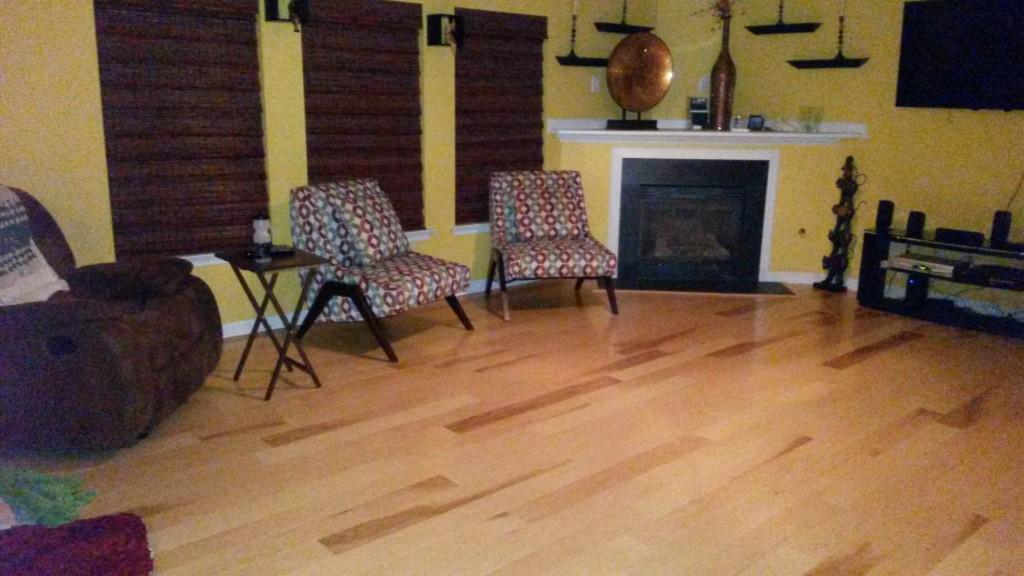 3 8 x 5 hickory builder 39 s pride engineered lumber for Builders pride flooring installation