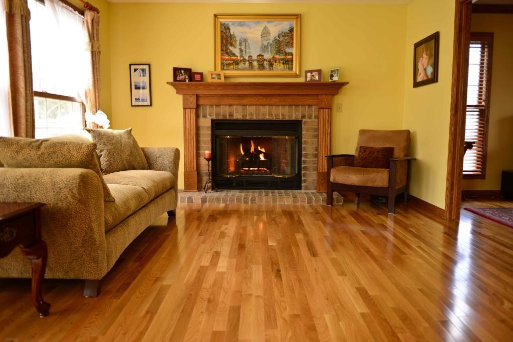 3 4 x 3 1 4 natural white oak bellawood lumber for Bellawood flooring reviews