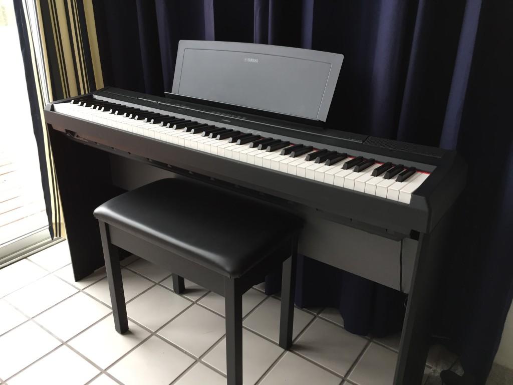 yamaha 88 key digital piano. yamaha p-115 88-key weighted action digital piano with ghs | musician\u0027s friend 88 key