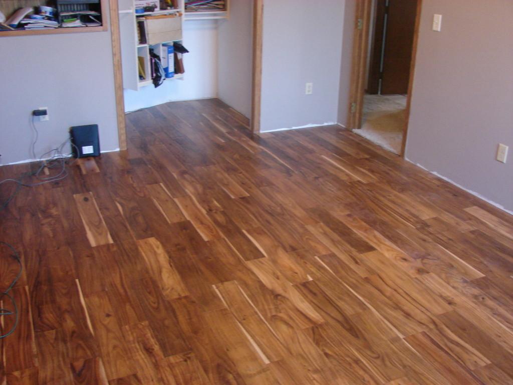 Great Acacia Tobacco Road Engineered Hardwood. Great Look. Easy Install.