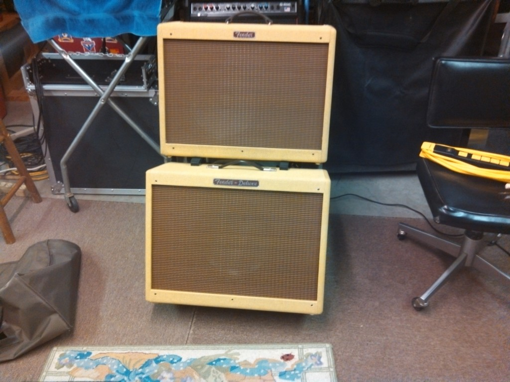 Fender Hot Rod Deluxe 112 80W 1x12 Guitar Extension Cab ...