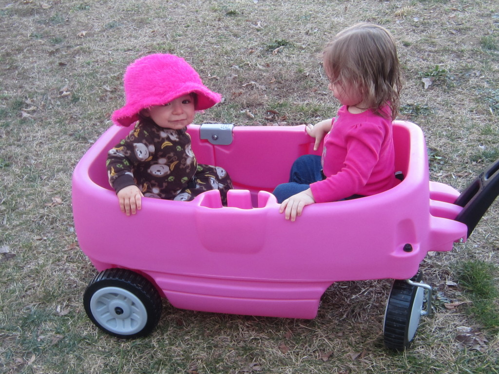 Pink Little Tikes Wagon The