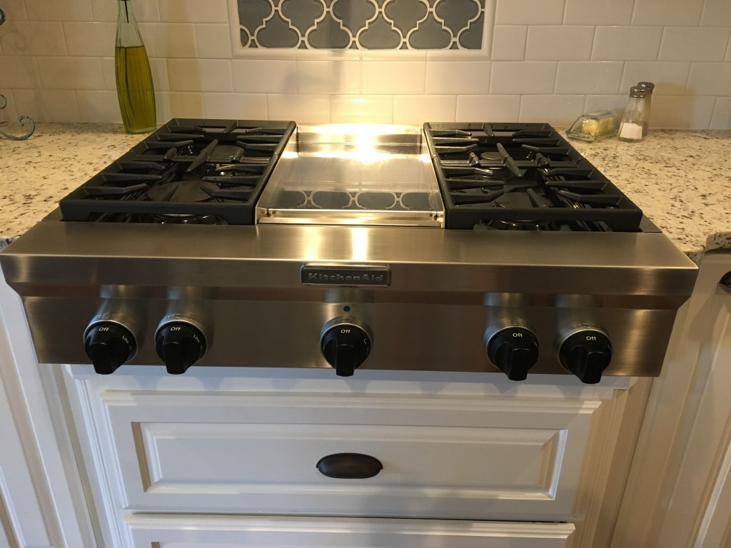 ... Kitchenaid Gas Range Top