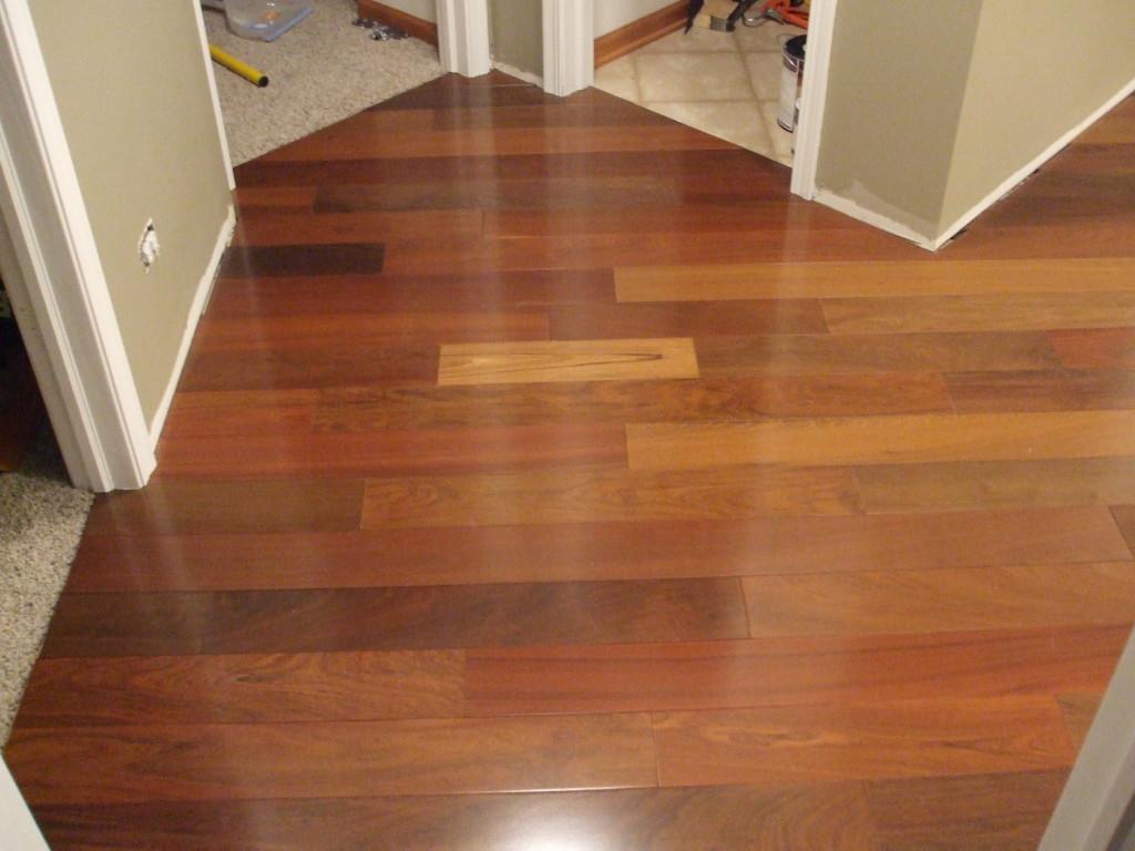 3 4 x 5 brazilian walnut bellawood lumber liquidators for Bellawood flooring reviews