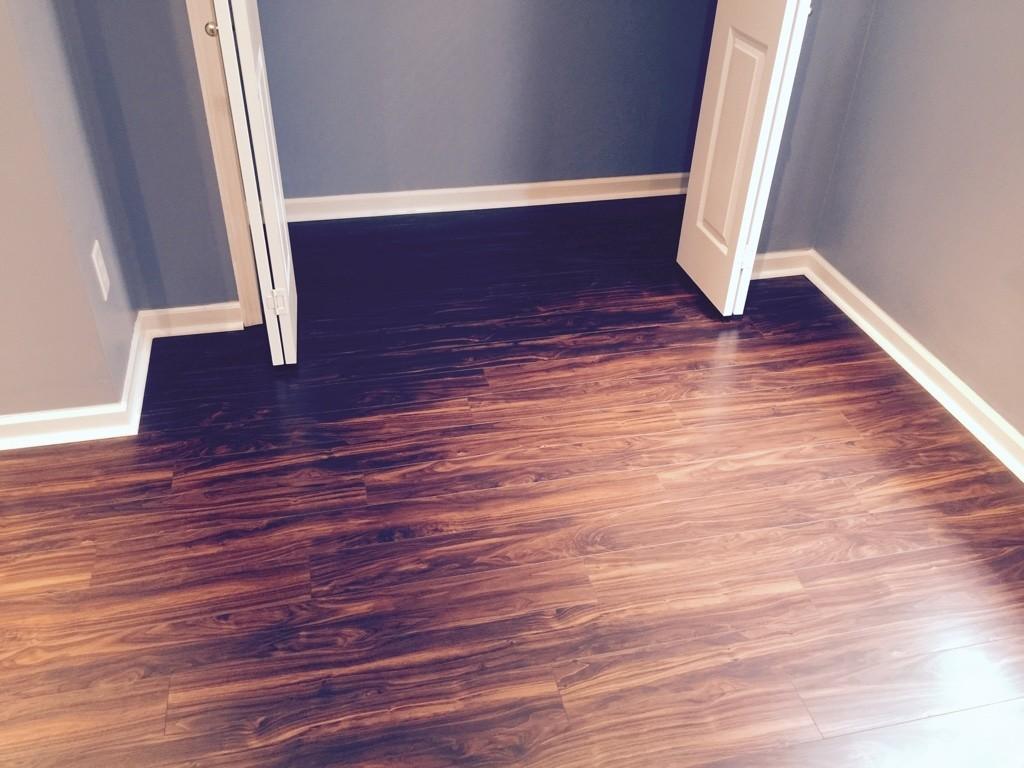 Beautiful Laminate Floor, Will Be Buying More!
