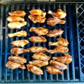 Kids love BBQ chicken wings!