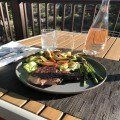 Rib eye and asparagus! Perfect