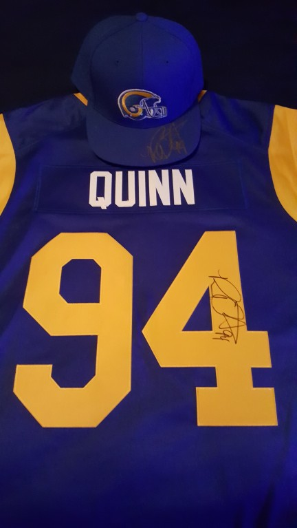 NFL Jersey's Men's Los Angeles Rams Robert Quinn Nike Navy Limited Jersey