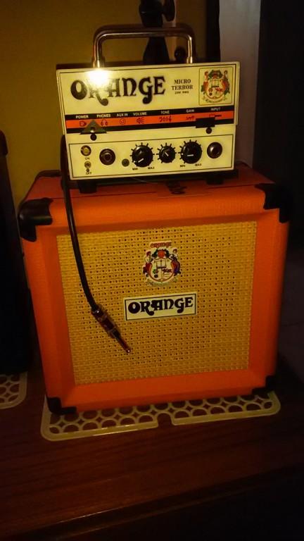 Orange Amplifiers PPC Series PPC108 1x8 20W Closed-Back Guitar ...
