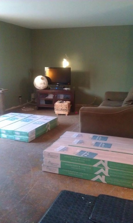 12mm pad glacier peak poplar laminate dream home for Dream home laminate floor cleaner