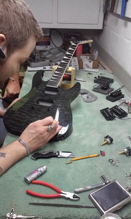 Jackson JS32TQ Dinky DKA Quilt Maple Top Electric Guitar – Jackson Guitar Pick Up J90c Wiring-diagram