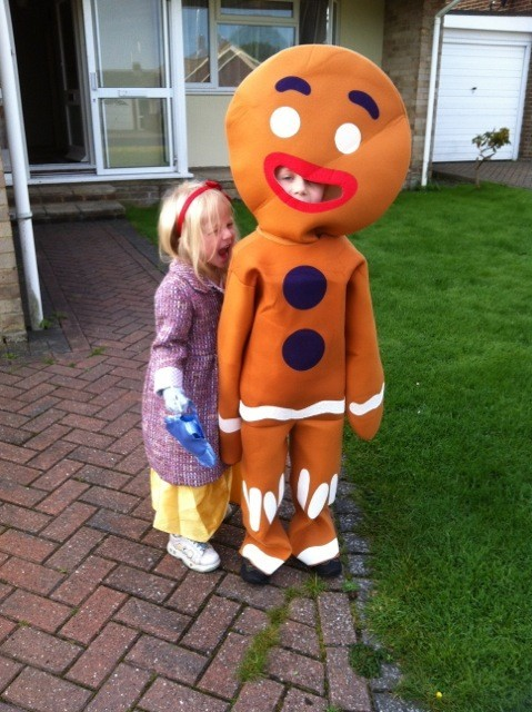 child gingerbreadman costume escapade174 uk