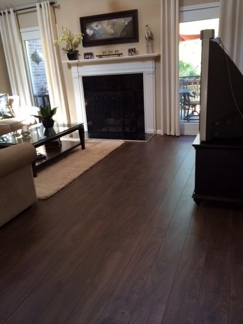 12mm+pad aberdeen garden oak laminate - dream home - kensington