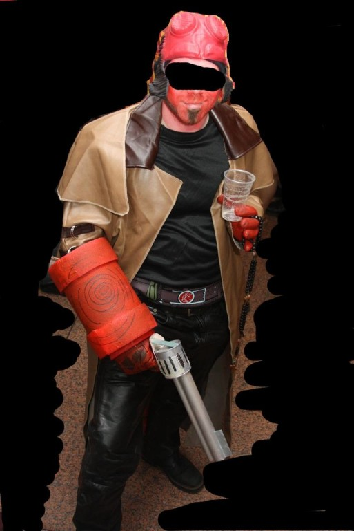 Hellboy Superhero Costume