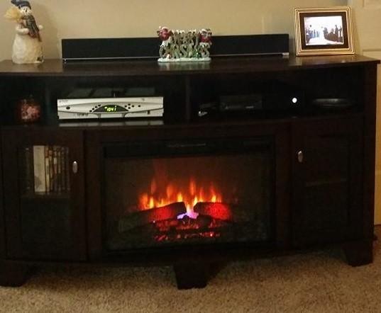 bentwood media fireplace 1