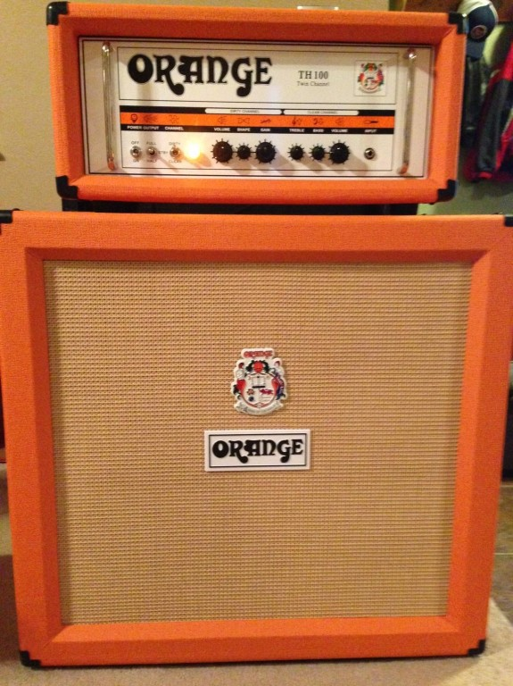 Orange Amplifiers Crush Pro 4x12 Guitar Cabinet | Musician's Friend