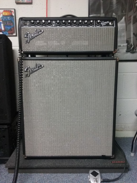 Fender Rumble 410 1000W 4x10 Bass Speaker Cabinet | Musician's Friend