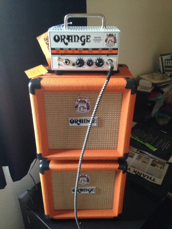 Orange Amplifiers PPC Series PPC108 1x8 20W Closed-Back Guitar ...