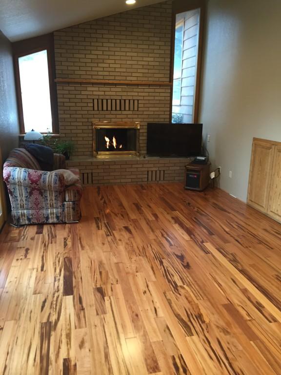 3 4 x 3 1 4 matte brazilian koa bellawood lumber for Bellawood flooring reviews