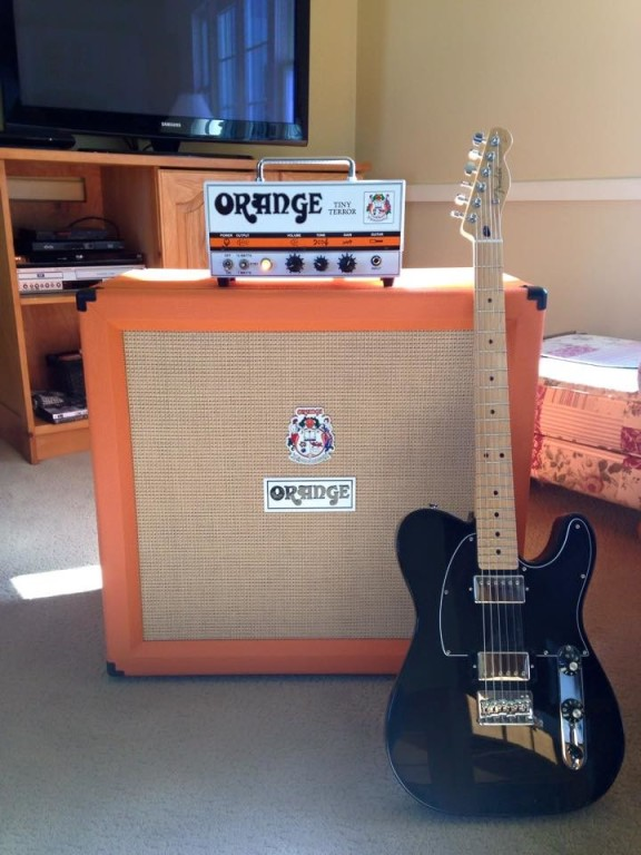 Orange Amplifiers PPC412 4x12 240W Compact Closed-Back Guitar ...