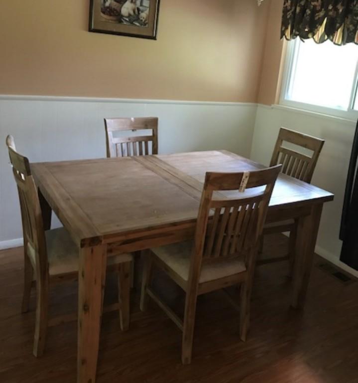 annabella table - natural | levin furniture