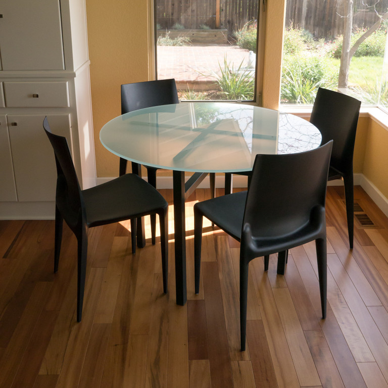 perfect fit - Benson Dining Tables In Natural Steel - Modern Dining Tables