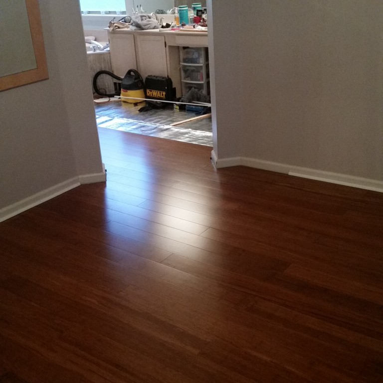 1 2 x 5 click strand carbonized bamboo morning star xd for Morning star xd bamboo flooring