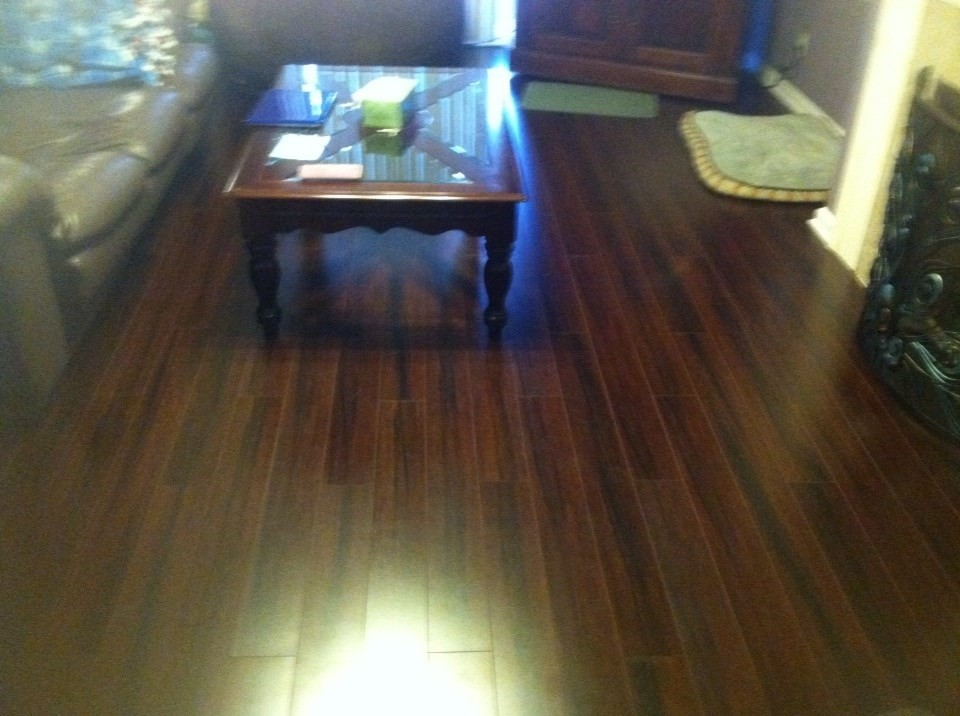 looks great - Bamboo Laminate Flooring