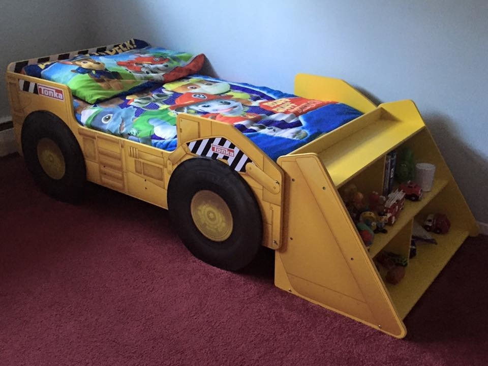 Truck Beds For Sale >> tonka toddler bed - 28 images - dump bed ebay autos post, construction bedding totally kids ...