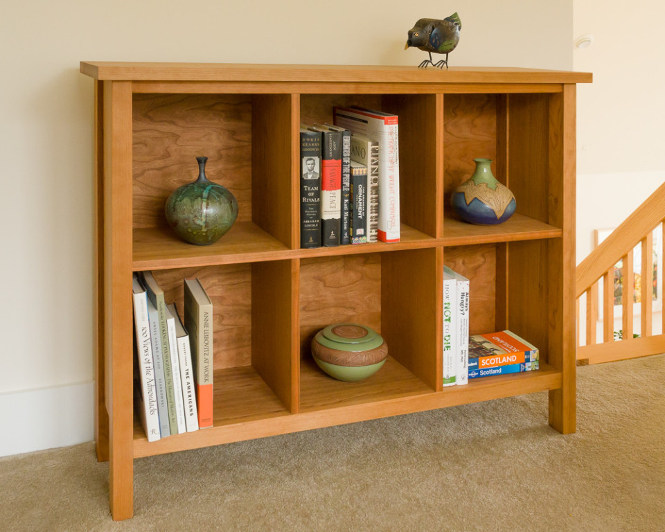Nicely-made cubby looks great - Sherwood Modern Cubby Storage - Modern Bookcases & Shelves