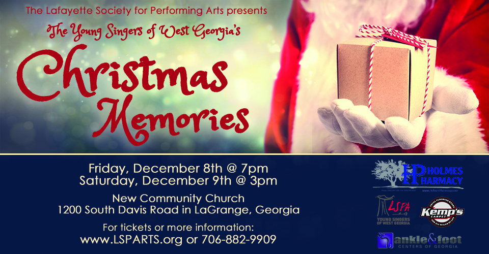 Christmas Memories with YSWG (9th Dec @ 3:00 PM)
