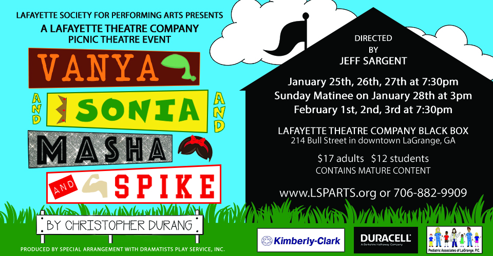 Vanya And Sonia And Masha And Spike (26th Jan @ 7:30 PM)