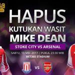 Prediksi Stoke City vs Arsenal 13 Mei 2017