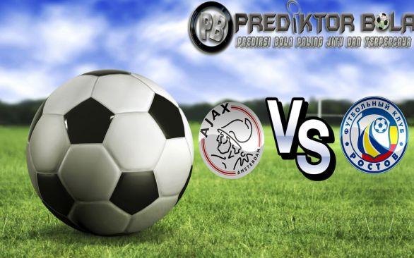 Prediksi Bola Ajax vs Rostov 17 Agustus 2016