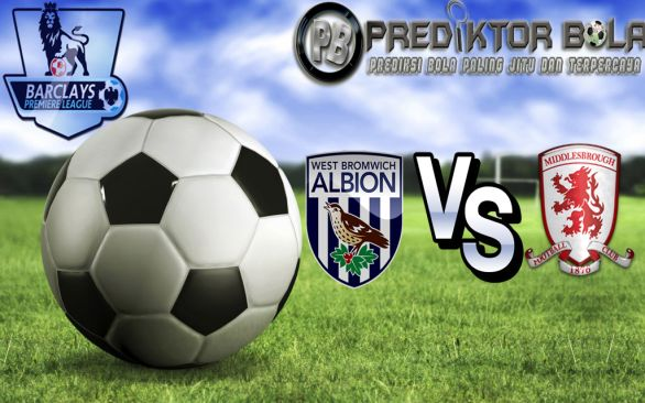 Prediksi Bola West Bromwich Albion vs Middlesbrough 28 Agustus 2016