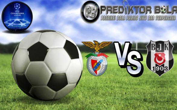 Prediksi Bola Benfica vs Besiktas 14 September 2016