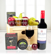 Fruit Wine & Cheese Crate