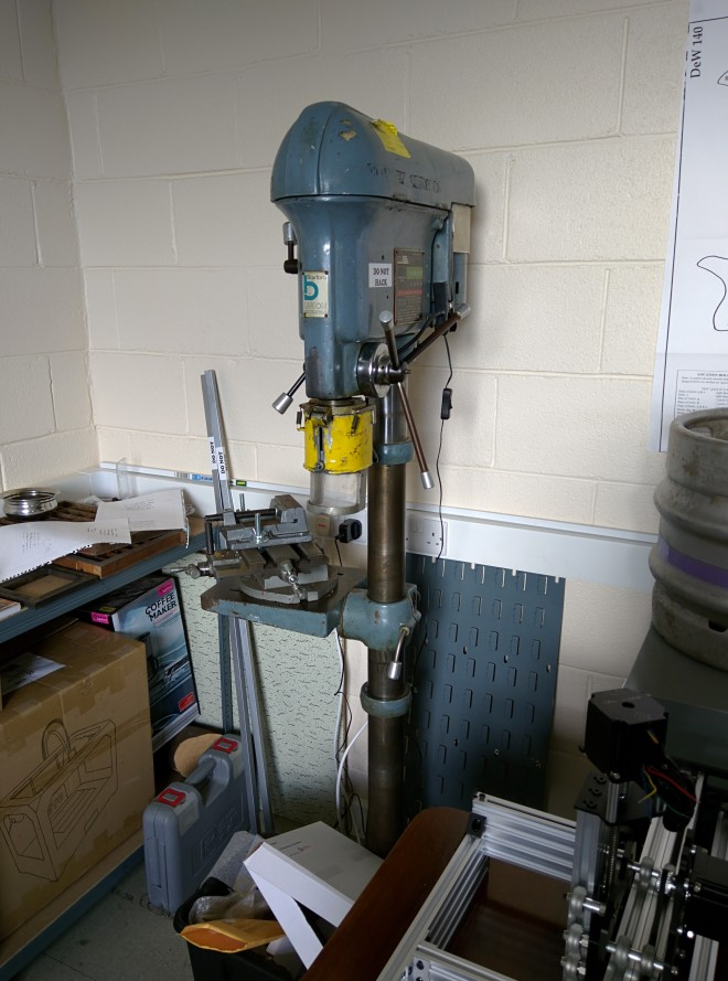 Beastly Drill Press.